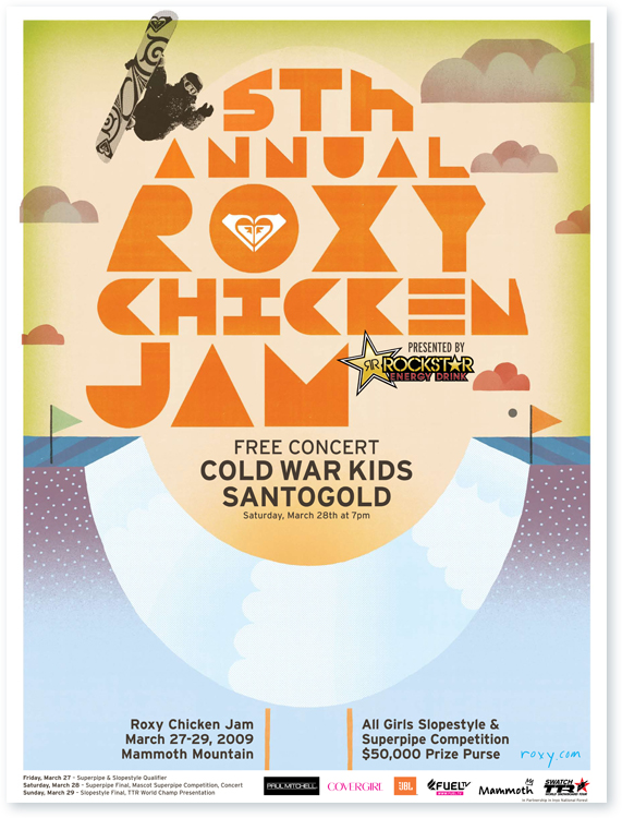 5Th Annual Roxy Chicken Jam